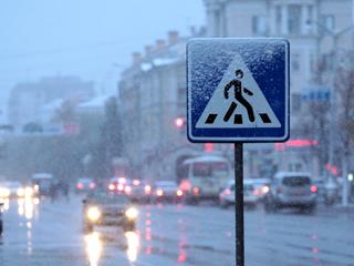 За сутки в Смоленске сбили трех пешеходов