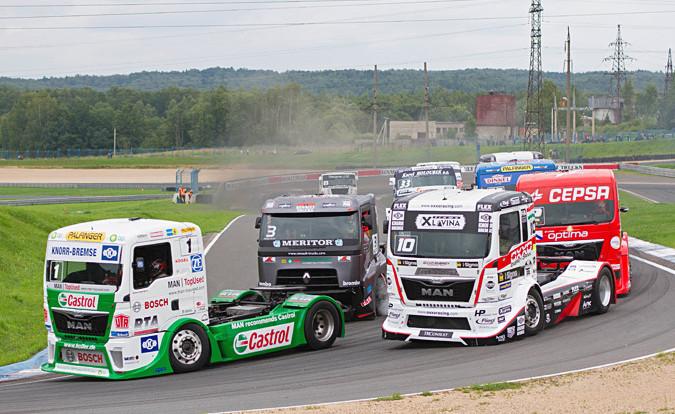 «Смоленское кольцо» останется без гонок грузовиков в 2014 году