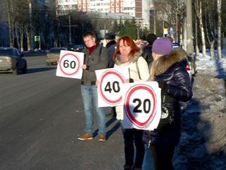 Смоленских водителей призвали сбавить скорость