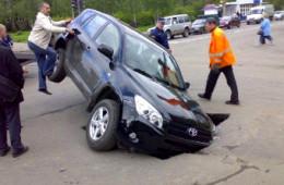 В России выросло количество ДТП из-за плохих дорог