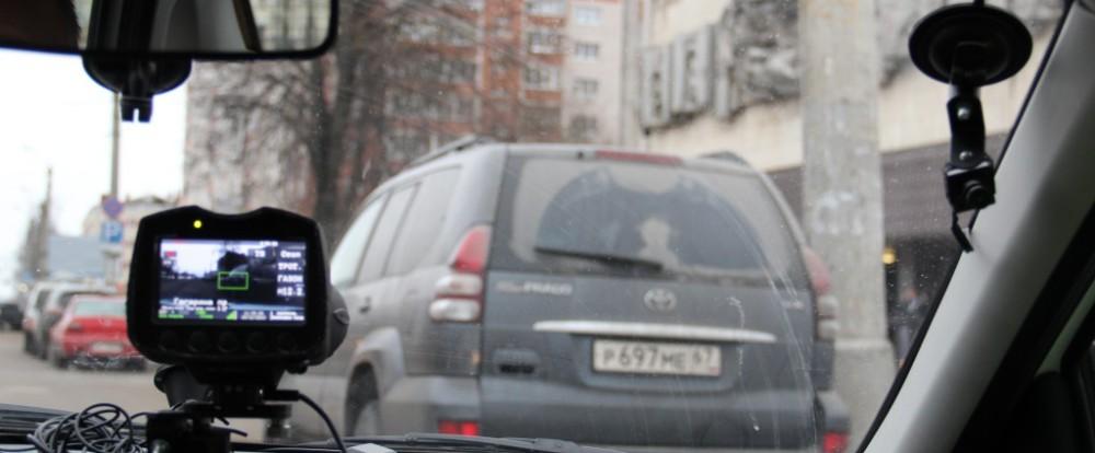 В Смоленске неправильных парковщиков фиксирует «паркон»
