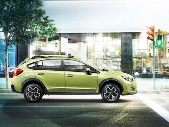 Компания Subaru привезла в Россию обновленный кроссовер XV