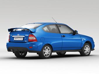 Купе Lada Priora обзавелось бюджетными версиями