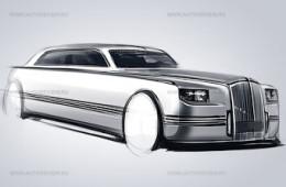 Рассекречен дизайн машин для российской политической элиты