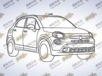 Fiat запатентовал дизайн компактного кроссовера