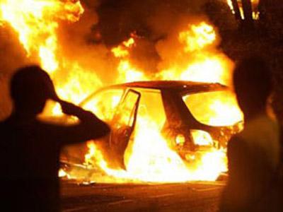 В Смоленской области сгорел гараж с автомобилем