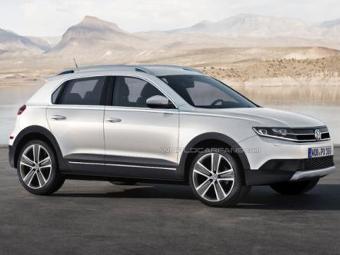 Volkswagen покажет в марте конкурента Nissan Juke