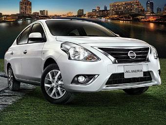 Nissan обновил седан Almera