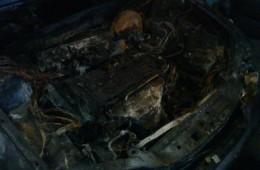 Ночью в Смоленске сгорела иномарка