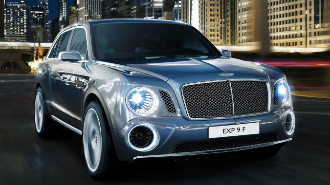 Внедорожный Bentley: сплошные «впервые»