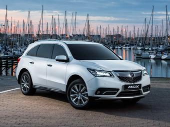 Стали известны рублевые цены на два кроссовера Acura