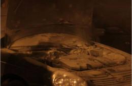 В Смоленске загорелись два автомобиля