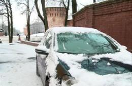 В Смоленске за одно утро произошло семь ДТП из-за гололеда
