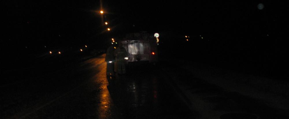 В Смоленской области микроавтобус вылетел в кювет