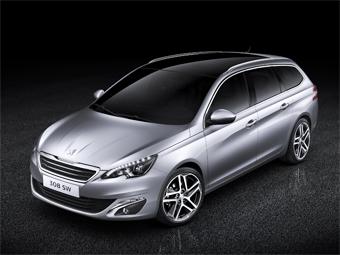 Peugeot показала универсал 308 нового поколения