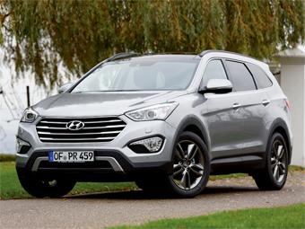 До России добрался удлиненный Hyundai Santa Fe