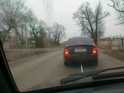 Автоворы угнали сломанную иномарку буксиром