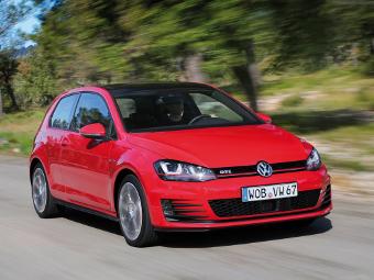 До России добрался Volkswagen Golf GTI с «механикой»