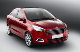 «Форд» показал прототип глобального компактного седана