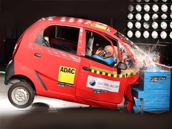 Самая дешевая машина в мире оказалась самой небезопасной