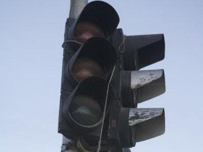 За неделю в Смоленске сломались три светофора