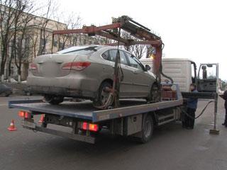 Автомобили смоленских нарушителей отправят на штрафстоянку