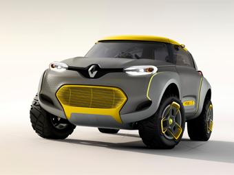 Компания Renault показала концепт-кар с «летающим компаньоном»