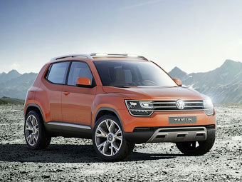 Volkswagen приблизил к серии кроссовер с литровым мотором