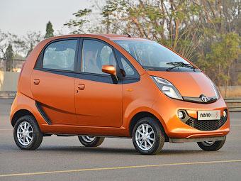Tata Nano оснастили крышкой багажника