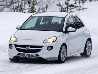 Opel приступил к тестам «заряженной» версии Adam