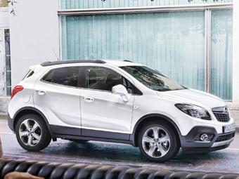 В России появился Opel Mokka с дизельным мотором