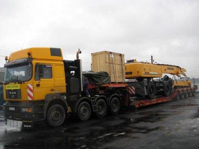 МВД взяло на контроль перевозку крупногабаритных и тяжеловесных грузов