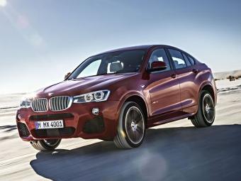 Компания BMW рассекретила кроссовер X4