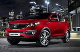 Объявлены рублевые цены на обновленный Kia Sportage
