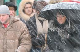 16 марта в Смоленске объявлено штормовое предупреждение