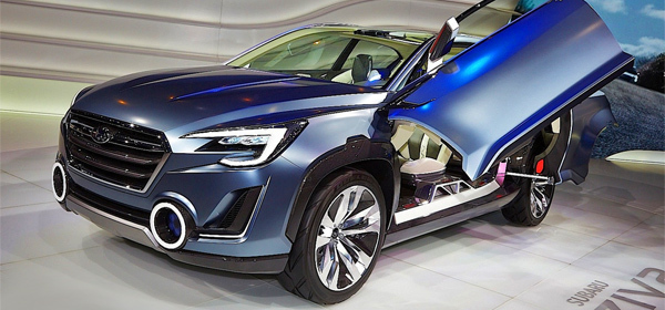Концепт Subaru Viziv 2 послужит основой для новой Tribeca