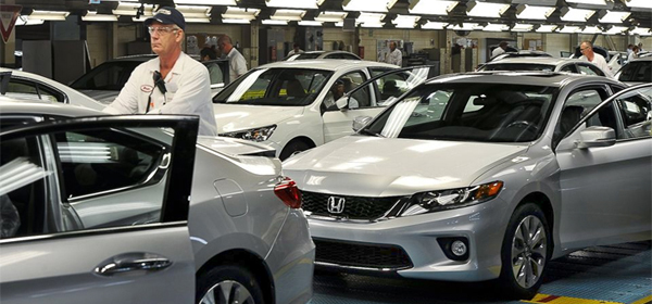 Honda произвела рекордное количество машин