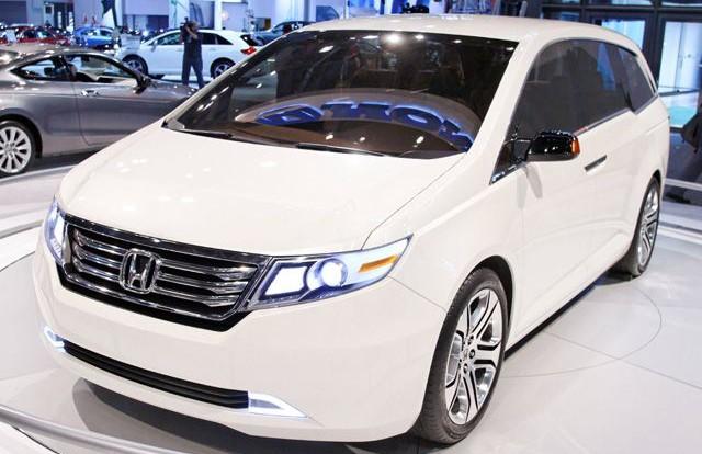 Honda отзывает с американского рынка минивэнов Honda Odyssey