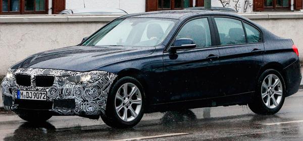 BMW 3-Series получит трехцилиндровые моторы