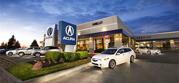 Acura объявила дату открытия дилерских центров