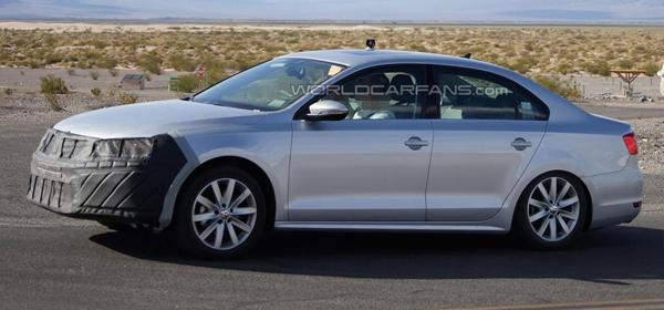 Обновленную Volkswagen Jetta покажут в Нью-Йорке
