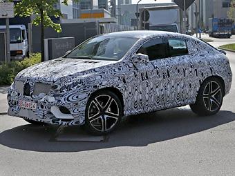 Mercedes-Benz тестирует конкурента BMW X6