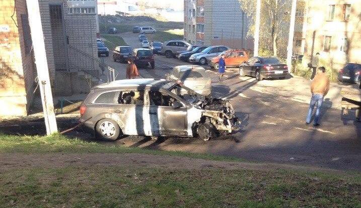 В Смоленске снова активизировались поджигатели авто