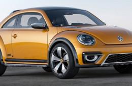Volkswagen выпустит компактвэн и кроссовер на базе Beetle