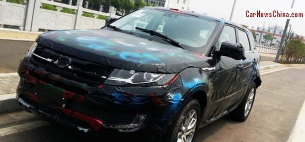 Китайцы выпустят копию Range Rover Evoque
