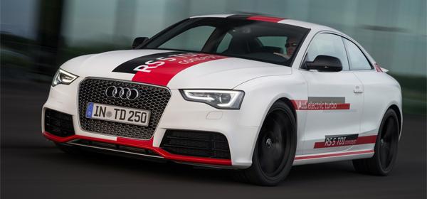 Audi представила RS5 с дизельным мотором