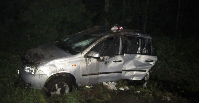 Смоленская автоледи пострадала в аварии с большегрузом.