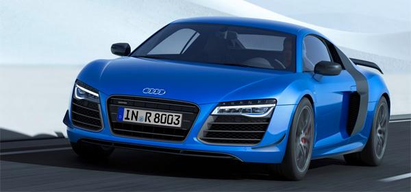 Audi представила серийный автомобиль с лазерными фарами