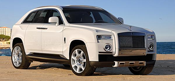 Rolls-Royce представит внедорожник в 2017 году