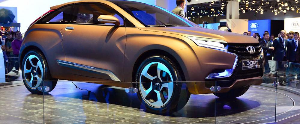 АвтоВАЗ выпустит кроссовер Lada XRAY в 2016 году